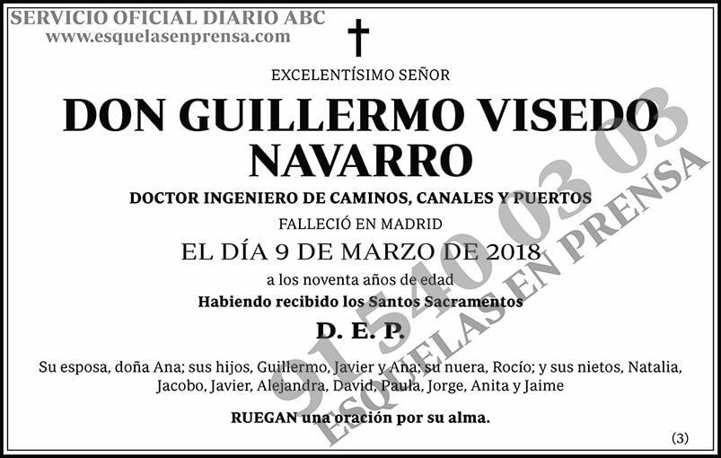 Guillermo Visedo Navarro